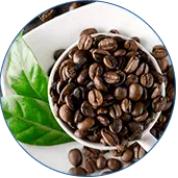 Natuurlijke watervrije cafeïne