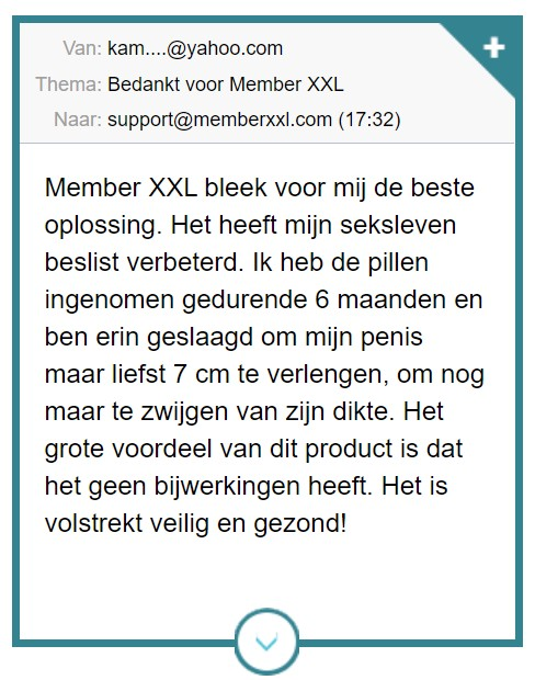 ervaringen Member XXL