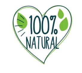 100% natuurlijke ingrediënten
