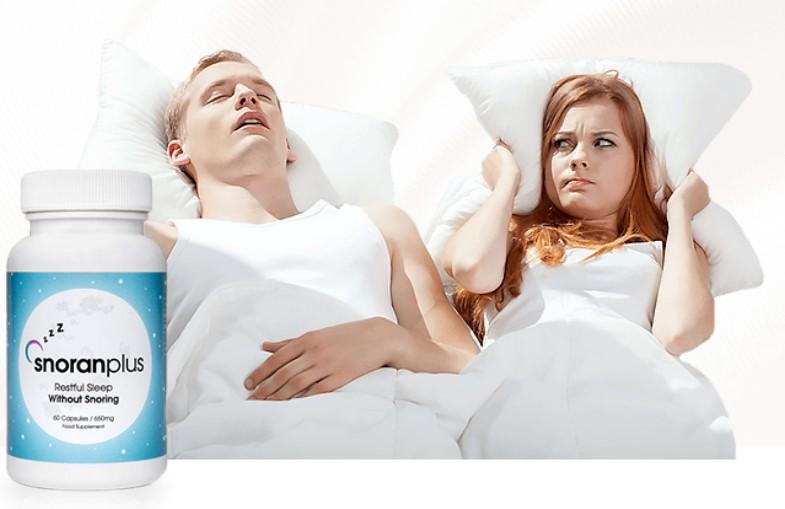 Zorgt het snurken ervoor dat het onmogelijk is om goed te slapen