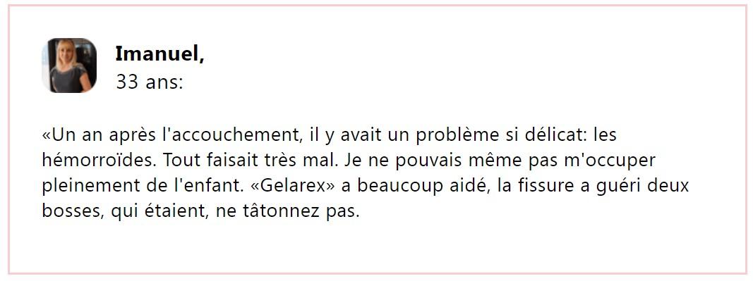 Gelarex reviews